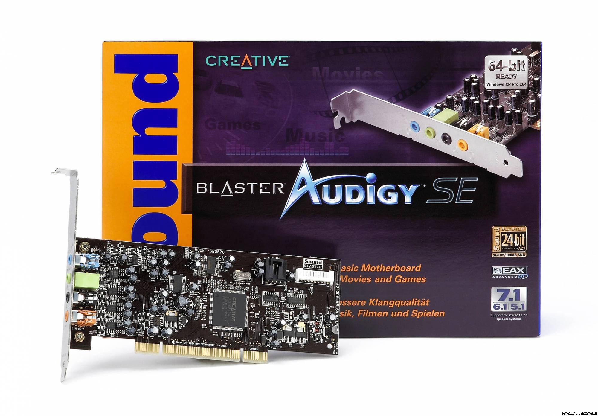 Creative Sound Blaster Audigy/Live Beta Driver 1.04.0079 for Windows 7
